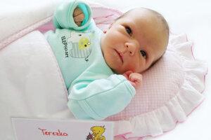 Terézia Borovicová z Veľkej Lesnej sa narodila 4.4.2021 v Bojniciach