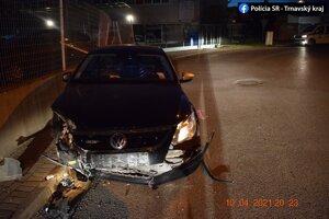 Opitý vodič spôsobil nehodu v Trnave