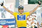Americký cyklista Lance Armstrong počas Tour de France 2004.