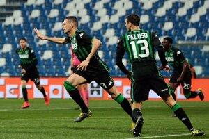 Futbalisti Sassuolo.