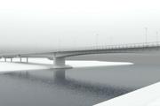 Vizualizácia zrekonštruovaného mosta.
