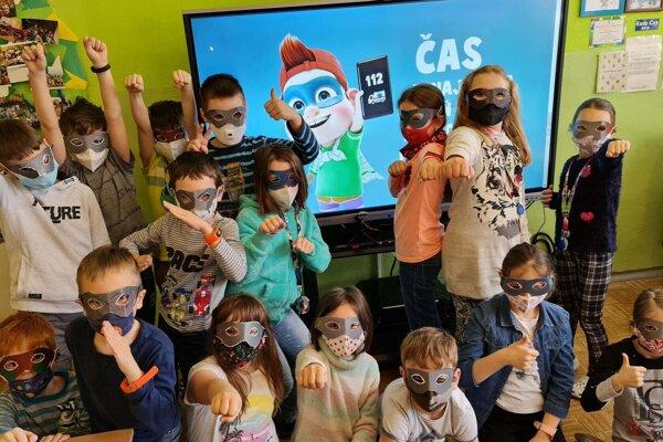 Malými hrdinami sa stali aj deti z Trstenej.