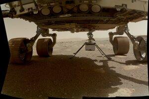 Ingenuity sa na Mars dostala v