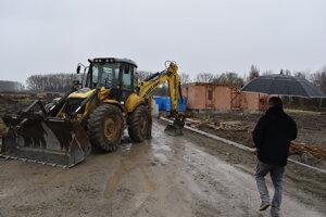 V Prešove - Nižnej Šebastovej, v novej štvrti (Rezbárska a Garbiarska ul.) panuje čulý stavebný ruch.