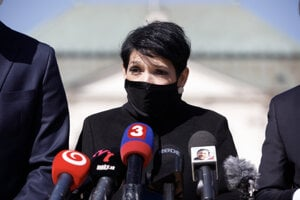 Predsedníčka hnutia Progresívne Slovensko Irena Bihariová.