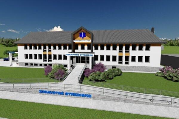 Takto bude vyzerať zdravotné stredisko po dokončení.
