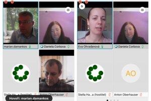 Online tlačová konferencia Zoskupenia 12+.