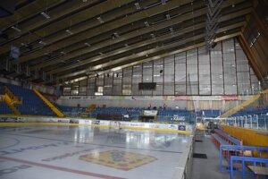 Zvolenský zimný štadión pred finále.