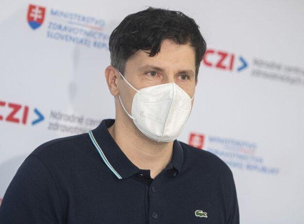 Róbert Suja, riaditeľ Národného centra zdravotníckych informácií.