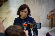 Predsedníčka Za ľudí Veronika Remišová.