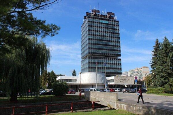 Budova ABŠO v Považskej Bystrici