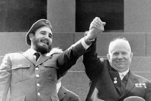 Invázia v Zálive svíň zblížila Fidela Castra so sovietskym vodcom Nikitom Chruščovom