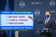 Podpredseda vlády a minister financií SR Igor Matovič.
