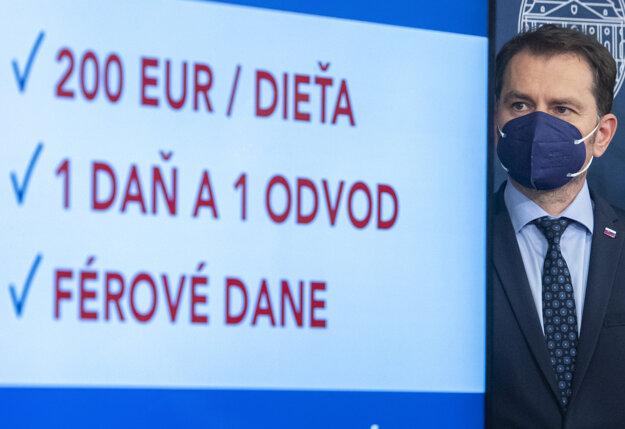 Podpredseda vlády a minister financií Igor Matovič.