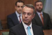 Grécky minister financii Christos Staikouras.