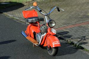 Okrem auta chcel Bojda vyrábať aj mini-motorku Sulov, jej prototyp dodnes jazdí.