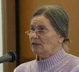 Evanjelická farárka Zora Kachničová.