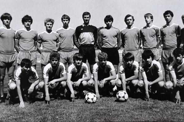 Futbaloví dorastenci Tatrana Prešov boli majstrami Československa.