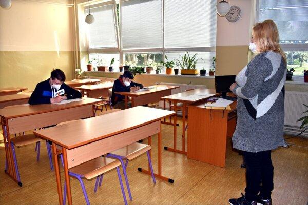 Prijímačky boli v riedko obsadených triedach.