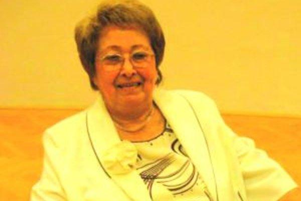 Eva Ruthová bola vyše 20 rokov dušou Literárneho klubu Janka Jesenského.