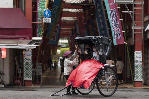 Rikša ako dopravný prostriedok je známa skôr z Ázie.
