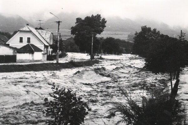Ničivá povodeň vroku 1972.