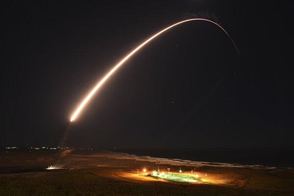 Vystrelená raketa