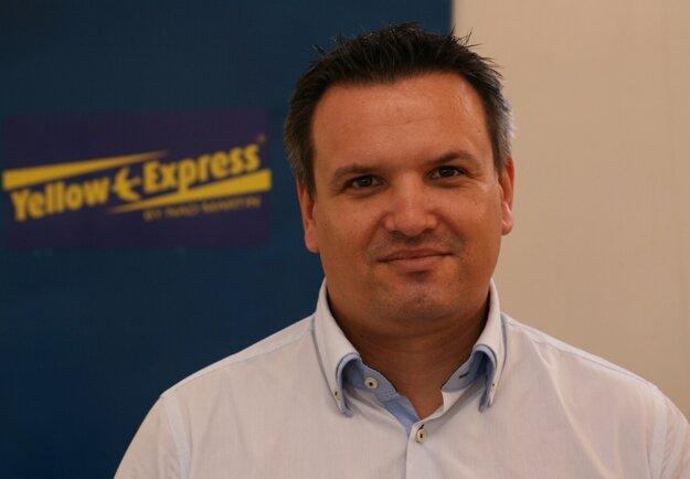 Pavol Piešťanský, riaditeľ spoločnosti Yellow Express. Foto - YE