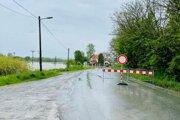 Cesta medzi Finticami a Prešovom je aktuálne neprejazdná.