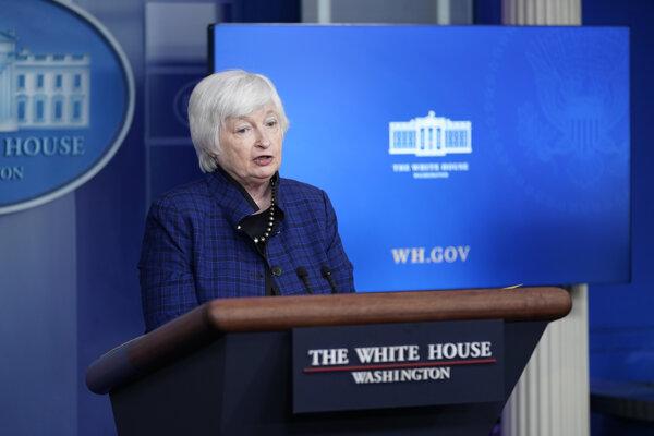 Americká ministerka financií Janet Yellenová.