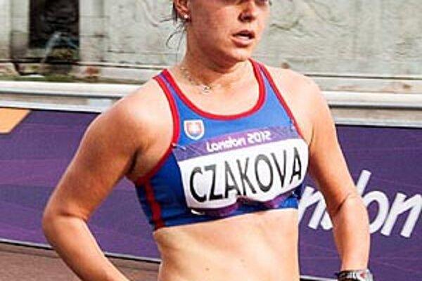 Mária Czaková reprezentovala pred týždňom na LOH v Londýne.