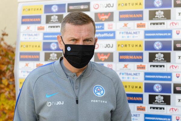 Tréner Jaroslav Kentoš.
