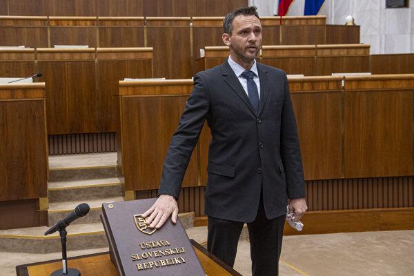 Ján Krošlák z OĽaNO.