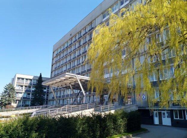 Univerzitná nemocnica L. Pasteura na Rastislavovej 43.