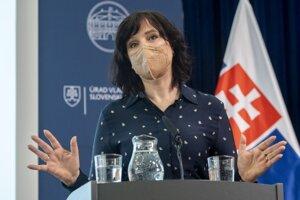 Ministerka investícií, regionálneho rozvoja a informatizácie (MIRRI) Veronika Remišová (Za ľudí).