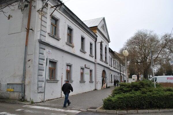 Župný dom v Zlatých Moravciach.