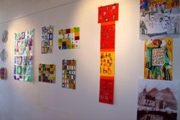 Deti v galérii tvorili na tému odkazu solúnskych vierozvestcov.