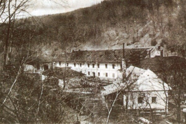 Papierenský mlyn.