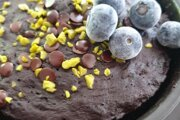 Trojminútový bezlepkový koláč bez cukru