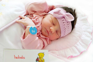 Izabela Benedikovičová z Bojníc sa narodila  2. 6. 2021 v Bojniciach