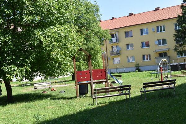 Detské ihrisko na Sedliackeho povstania v Prešove.
