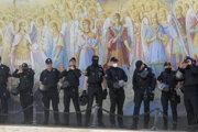 Polícia v Kyjeve