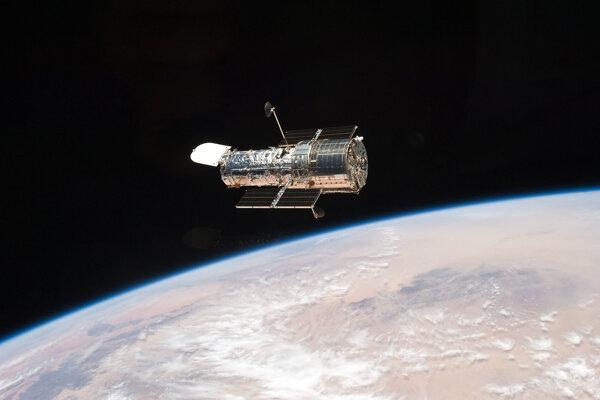 Hubblov vesmírny ďalekohľad.
