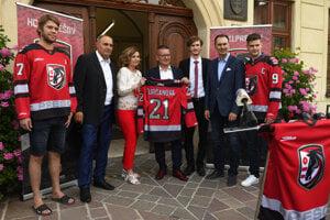 Predstavenie dresov a nového tímu z Prešova