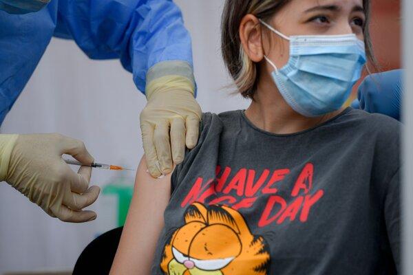 Očkovanie proti Covidu-19.