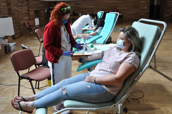 V Istebnom prišlo krv darovať tridsať ľudí.
