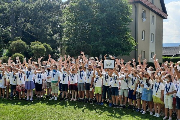 Do projektu sa na Základnej škole v Liesku zapojilo 113 detí.