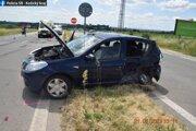 Auto značky Dacia riadil 78-ročný muž z okresu Michalovce.