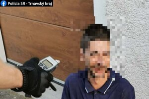Muž z okresu Topoľčany bol pod vplyvom alkoholu.