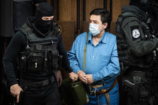 Marian Kočner na súde v prípade vraždy Jána Kuciaka a Martiny Kušnírovej.